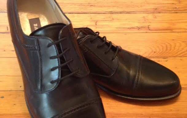 BRAND NEW! Bally Cap Toe Lace Ups