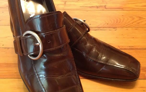Prada Buckle Loafers