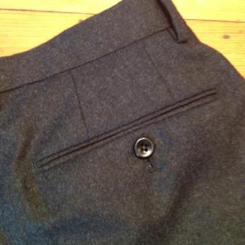 Incotex Dark Grey Pants